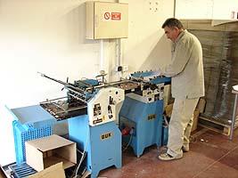 Maintenance d'une machine de façonnage
